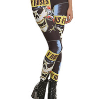 Guns N' Roses Skull Leggings | Hot Topic