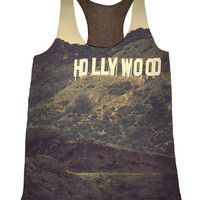 Old Hollywood - Silk Fashion Tank Top - California Style