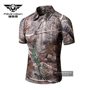 Men Tactics Camouflage Shirt Outdoors Climbing Camping Hiking Cs Hunting Sports Cycling Army Fans Breathable Male Trekking Tops