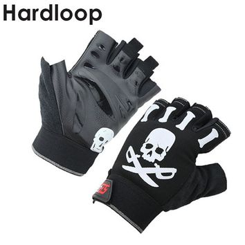 Outdoor Sport Gloves Skull Summer Cycling Gloves