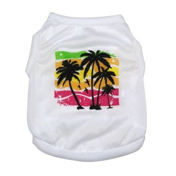 Dog Palm Tree T-Shirt