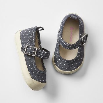 Gap Baby Polka Dot Mary Jane Sneakers