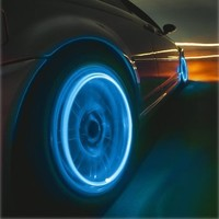 Amazing Color Changing LED Car and Bicycle Wheel Lights (Pair)
