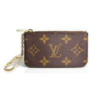 Pre-Owned Louis Vuitton Key Pouch in Monogram
