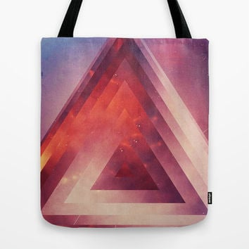 Triangled Too Tote Bag by DuckyB (Brandi)