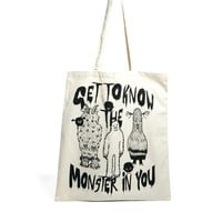 Monki Almira Get to Know the Monster Shopper Bag