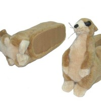 Happy Feet - Meerkat - Animal Slippers