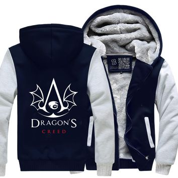 The Dragon's Creed, Assassin's Creed Fleece Jacket