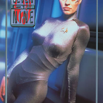 Star Trek Voyager Seven of Nine 1998 Poster 24x36