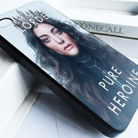 Lorde-pure heroine music case for iphone 4,4s,5,5s,5c,6 case