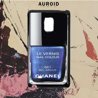 Chanel Nail Polish Bel Argus Samsung Galaxy Note 5 Case Auroid