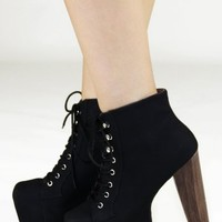 High & Mighty Bootie: Black - $54.99 : Spotted Moth, Chic and sweet clothing and accessories for women