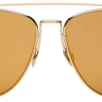 Gold Technologic Sunglasses