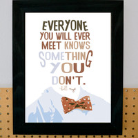 Bill Nye Art Print Motivational Print Back to by greytheorymill
