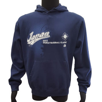 Majestic Japan World Baseball Classic Charge Up Pullover Hoodie