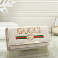 Gucci Women Leather Shopping Wallet Purse