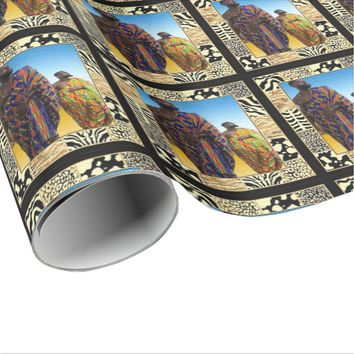 Wise Men Of The African Desert Wrapping Paper
