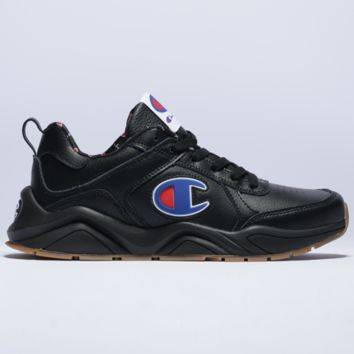 Champion Fashion New Logo Leisure Sports Running Women Men Shoes Black