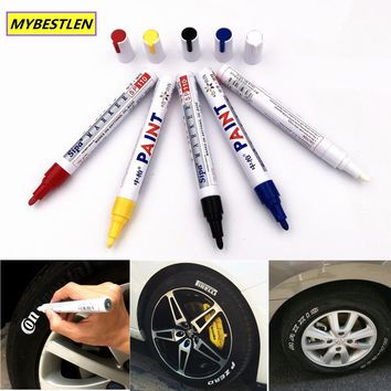 B-09 Universal White Car Tyre Tire Tread Marker markers Graffiti Oily Marker Pen for BMW Opel Renault AUDI LADA car-styling