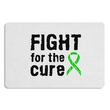 Fight for the Cure - Lime Green Ribbon Lyme Disease Placemat
