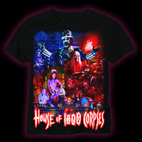 House of 1000 Corpses T-Shirt - Design by Joel Robinson