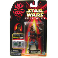 Captain Panaka Star Wars Episode I CommTech Collection 2 Action Figure