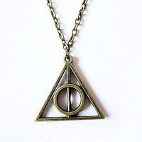 Necklace / The Deathly Hallows  Necklace / Harry Potter Jewelry