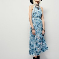 Free People Womens Laced Heart Midi Dress