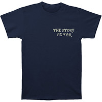 Story So Far Men's  Skull Panther T-shirt Navy Rockabilia