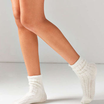 Out From Under Fuzzy Ribbed Slouchy Socks - Urban Outfitters