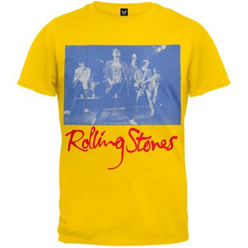 Rolling Stones - Blue Photo T-Shirt