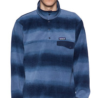 Patagonia Lightweight Synchilla Snap-T Pullover in Blue
