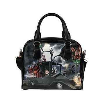 Angelinana Custom Women's Handbag Nightmare Before Christmas Fashion Shoulder Bag