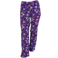 Minnie Mouse - Minnie Lovely All-Over Purple Juniors Fleece Sleep Pants