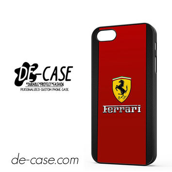 Ferrari Right For Iphone 5 Iphone 5S Case Phone Case Gift Present YO