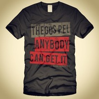 """""""The GOSPEL.ANYBODY.CAN.GET.IT"""" Mark 16:15 And he said unto them, Go ... - crossstitchapparel @ Instagram Web Interface - 5th village"""