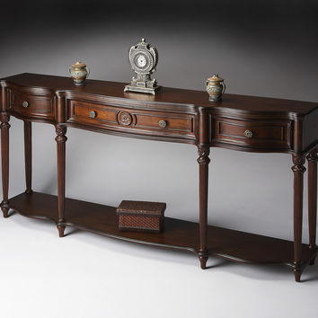 "Plantation Cherry Console Table 72""W by Butler Specialty"