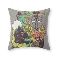 Society6 Leader Of The Pa Throw Pillow