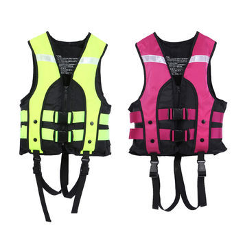 Child Water Sports Life Vest Jackets Children's Lifejacket Fishing Life Saving Vest Inflatable Life Jacket For Boating Surfing