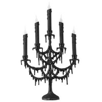 RAZ 22 Black Candelabra Halloween Decoration