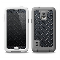 The Dark Diamond Plate Samsung Galaxy S5 LifeProof Fre Case Skin Set