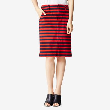 Kate Spade Saturday Trouser Skirt In Stripe
