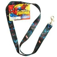 Spider-man Lanyard Key Chain & Key Holder