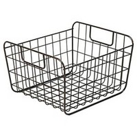 Sink Caddy Pantry storage wire basket - Pewter - Large - Threshold™