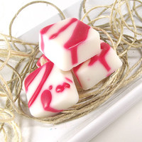Soy Tarts - Peppermint Swizzle Stick scented Soy Candle Melts -- (4) One Ounce Tarts