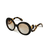 Prada - Acetate Baroque Gradient Sunglasses
