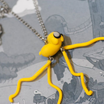Adventure Time Jake The Dog Dangly Feet Necklace