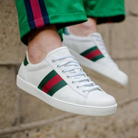 "GUCCI Women ""Ace"" Low Top Sneakers"