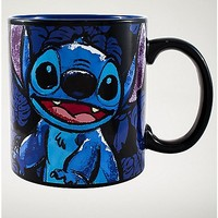 Stitch Floral Mug - Spencer's