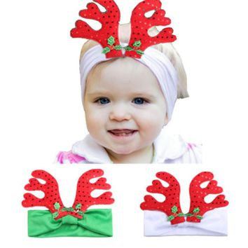 Hot sell Rudolf Reindeer Antlers Christmas Xmas Festive Novelty Headband Hair Band